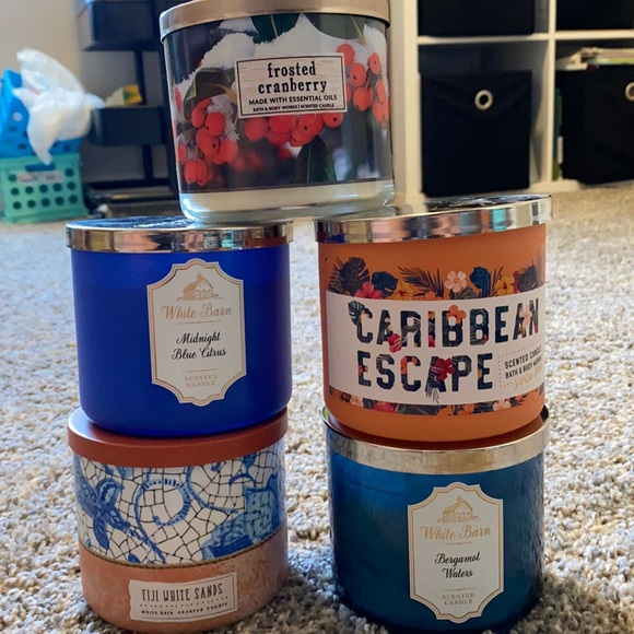 Bath and body works candles! (Variety)
